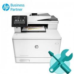 Reparación Impresora HP M477