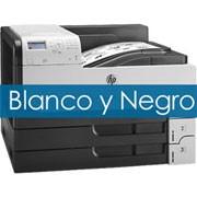 Impresoras HP Blanco y Negro