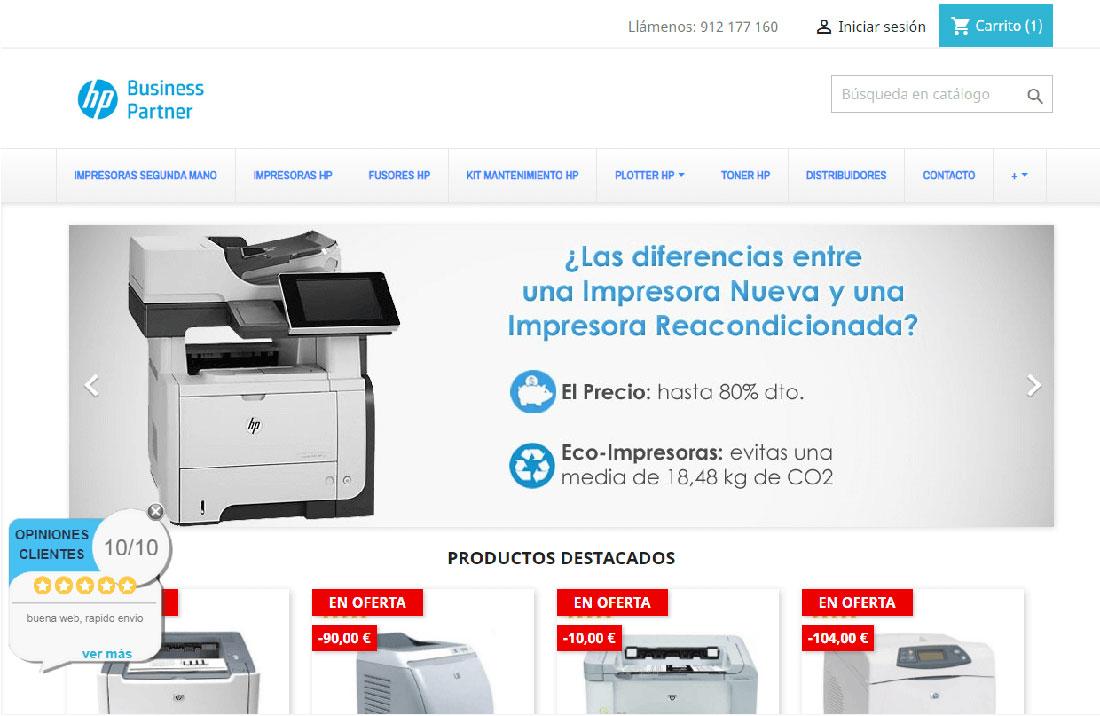 tienda impresoras hp