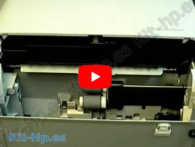 Instrucciones Cambio Fusor HP