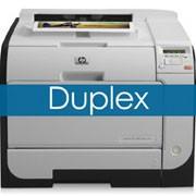 Impresoras HP Duplex